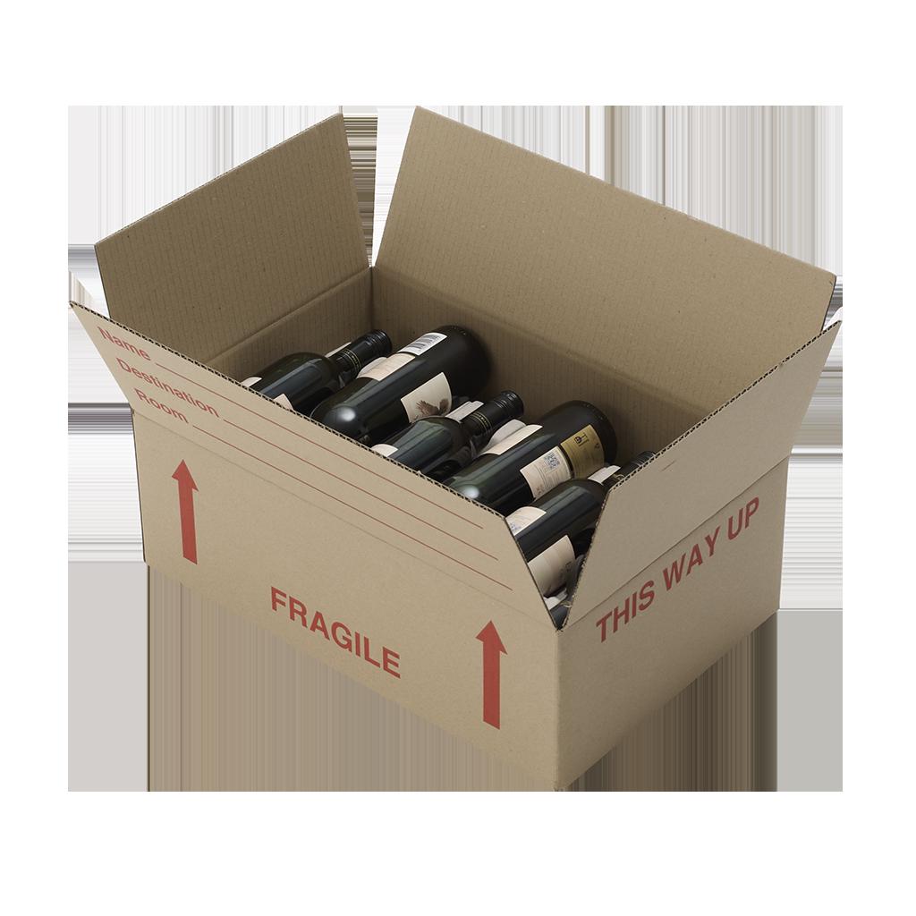 A On Box : Lay flat wine box cbd boxes